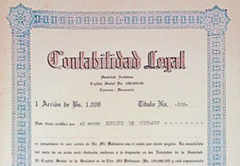 Efeméride 1: 30 de abril de 1943 – Iván Darío Maldonado estableció la compañía Contabilidad Legal S.A.