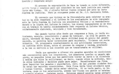 Carta del Dr. Iván Darío Maldonado dirigida al señor José Manuel Sáchez. 6 págs.