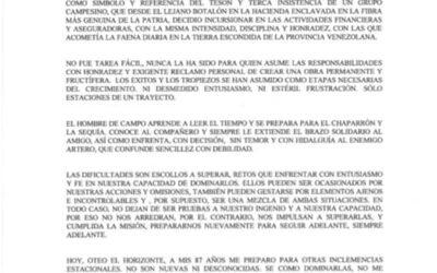 Mensaje del Dr. Iván Darío Maldonado sobre Seguros La Previsora. 1 pág.
